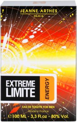 Jeanne Arthes Extreme Limite Energy Eau de Toilette pentru barbati 4
