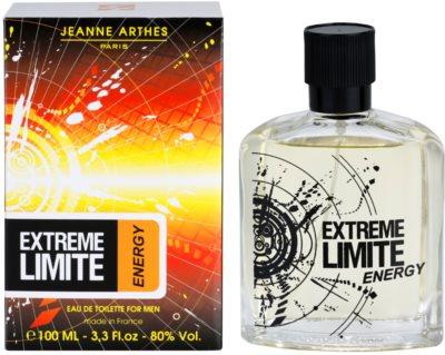 Jeanne Arthes Extreme Limite Energy eau de toilette para hombre