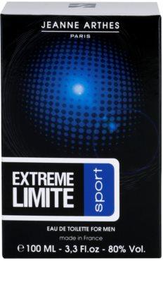 Jeanne Arthes Extreme Limite Sport Eau de Toilette para homens 4