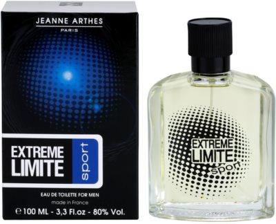 Jeanne Arthes Extreme Limite Sport eau de toilette para hombre