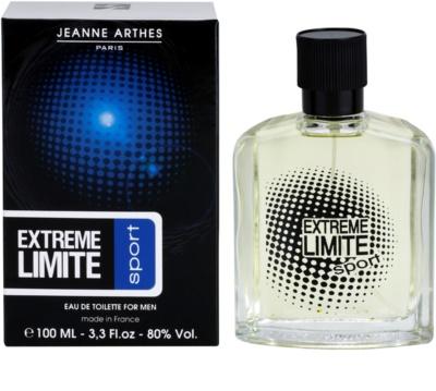 Jeanne Arthes Extreme Limite Sport Eau de Toilette para homens