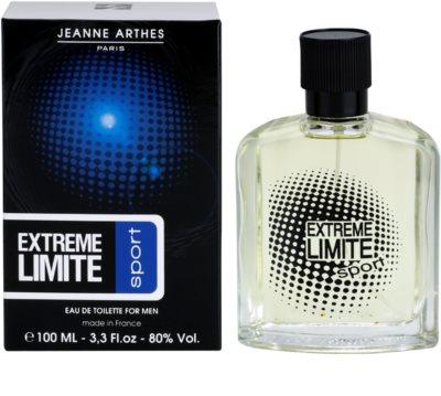Jeanne Arthes Extreme Limite Sport Eau de Toilette pentru barbati