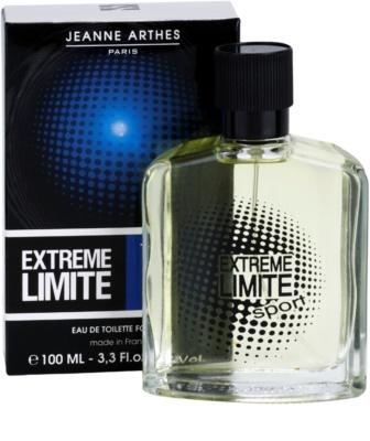 Jeanne Arthes Extreme Limite Sport Eau de Toilette para homens 1