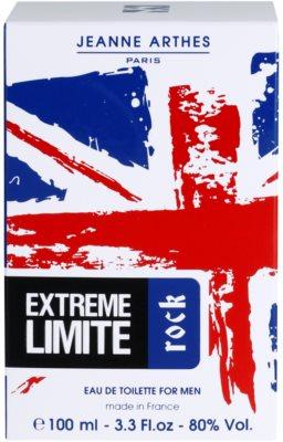 Jeanne Arthes Extreme Limite Rock eau de toilette para hombre 4