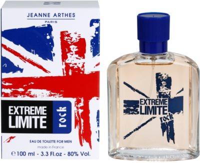 Jeanne Arthes Extreme Limite Rock Eau de Toilette para homens