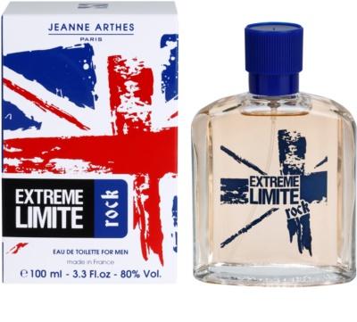 Jeanne Arthes Extreme Limite Rock Eau de Toilette pentru barbati