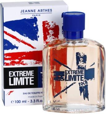 Jeanne Arthes Extreme Limite Rock eau de toilette para hombre 1