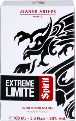 Jeanne Arthes Extreme Limite Spirit Eau de Toilette pentru barbati 4