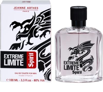Jeanne Arthes Extreme Limite Spirit eau de toilette férfiaknak