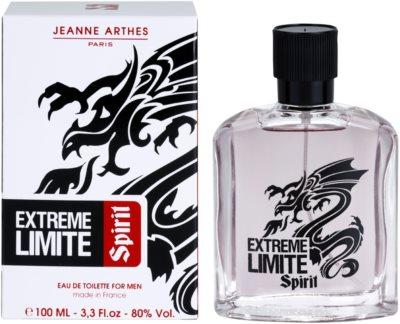 Jeanne Arthes Extreme Limite Spirit Eau de Toilette para homens