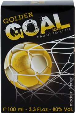 Jeanne Arthes Golden Goal eau de toilette férfiaknak 4