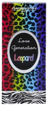 Jeanne Arthes Love Generation Leopard Eau de Parfum für Damen 4