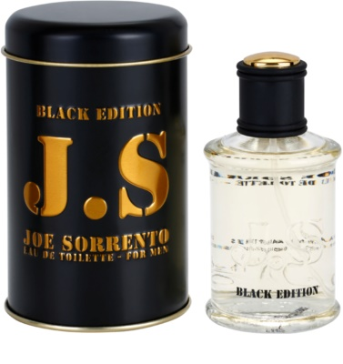 Jeanne Arthes Joe Sorrento Black Edition Eau de Toilette für Herren