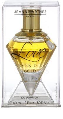 Jeanne Arthes Love Never Dies Gold eau de parfum para mujer 4