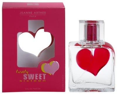 Jeanne Arthes Lovely Sweet Sixteen Eau de Parfum para mulheres