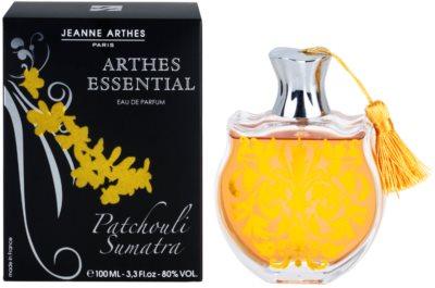 Jeanne Arthes Arthes Essential Patchouli Sumatra eau de parfum para mujer