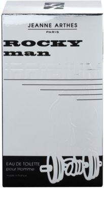 Jeanne Arthes Rocky Man Irridium Eau de Toilette para homens 4