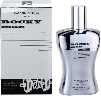 Jeanne Arthes Rocky Man Irridium Eau de Toilette para homens