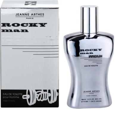 Jeanne Arthes Rocky Man Irridium Eau de Toilette pentru barbati