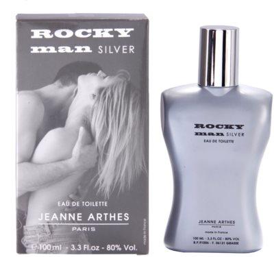 Jeanne Arthes Rocky Man Silver eau de toilette para hombre