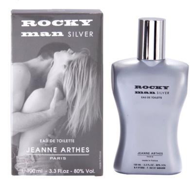 Jeanne Arthes Rocky Man Silver Eau de Toilette para homens