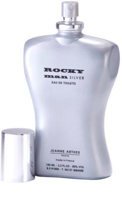Jeanne Arthes Rocky Man Silver Eau de Toilette für Herren 3
