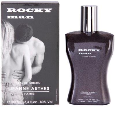 Jeanne Arthes Rocky Man Eau de Toilette para homens