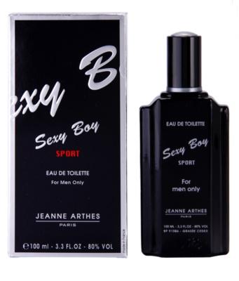 Jeanne Arthes Sexy Boy Sport Eau de Toilette pentru barbati