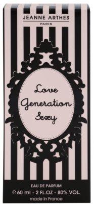 Jeanne Arthes Love Generation Sexy eau de parfum para mujer 4