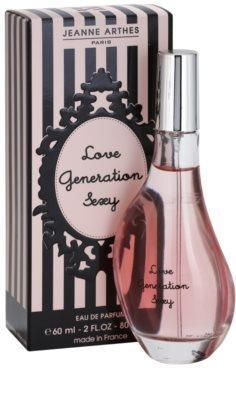 Jeanne Arthes Love Generation Sexy eau de parfum para mujer 1