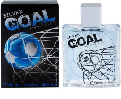 Jeanne Arthes Silver Goal toaletna voda za moške