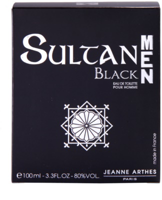 Jeanne Arthes Sultane Black Men eau de toilette férfiaknak 4