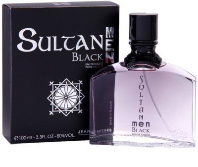 Jeanne Arthes Sultane Black Men eau de toilette férfiaknak 1