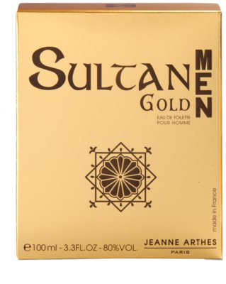 Jeanne Arthes Sultane Gold Men eau de toilette férfiaknak 4