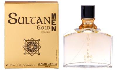 Jeanne Arthes Sultane Gold Men Eau de Toilette für Herren