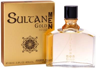 Jeanne Arthes Sultane Gold Men eau de toilette férfiaknak 1