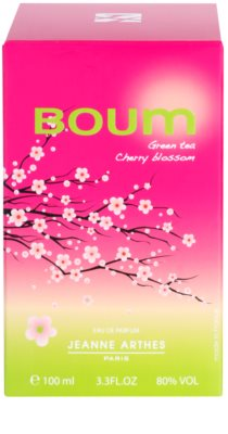 Jeanne Arthes Boum Green Tea Cherry Blossom Eau de Parfum for Women 3