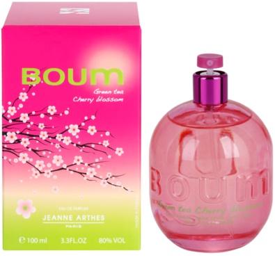 Jeanne Arthes Boum Green Tea Cherry Blossom parfumska voda za ženske
