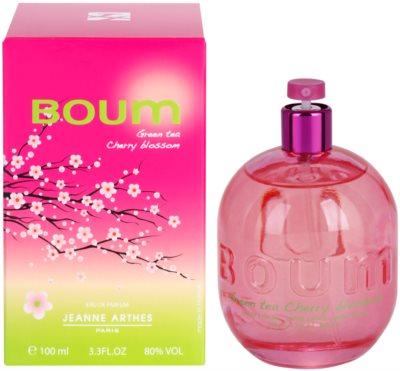 Jeanne Arthes Boum Green Tea Cherry Blossom woda perfumowana dla kobiet
