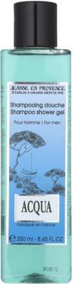 Jeanne en Provence Acqua sprchový gel pro muže