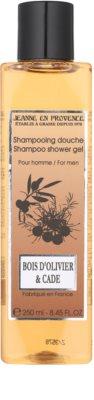 Jeanne en Provence Olive Wood & Juniper sprchový gél pre mužov