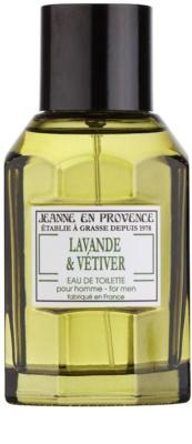 Jeanne en Provence Lavander & Vétiver Eau de Toilette for Men