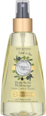 Jeanne en Provence Olive suchý olej na obličej, tělo a vlasy
