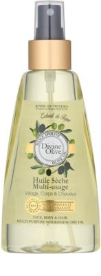 Jeanne en Provence Olive ulei uscat parului facial si de pe corp