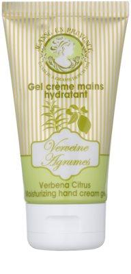 Jeanne en Provence Verbena Citrus crema para manos y uñas