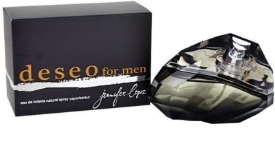 Jennifer Lopez Deseo for Men eau de toilette férfiaknak