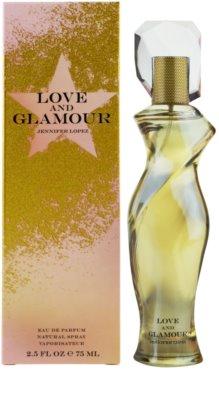 Jennifer Lopez Love & Glamour Eau de Parfum para mulheres