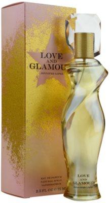 Jennifer Lopez Love & Glamour Eau de Parfum para mulheres 1