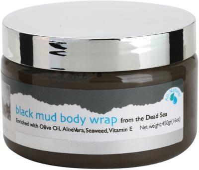 Jericho Body Care Körperwickel aus schwarzem Schlamm