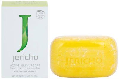 Jericho Body Care sabonete de enxofre